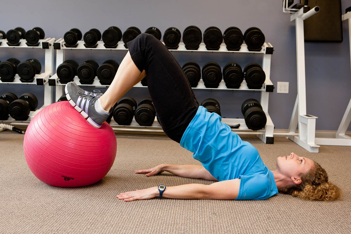 Xcel Stability Ball - Hip Extension