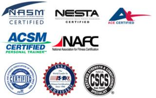 Personal trainer certifications v3