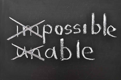 Self talk - possible, able