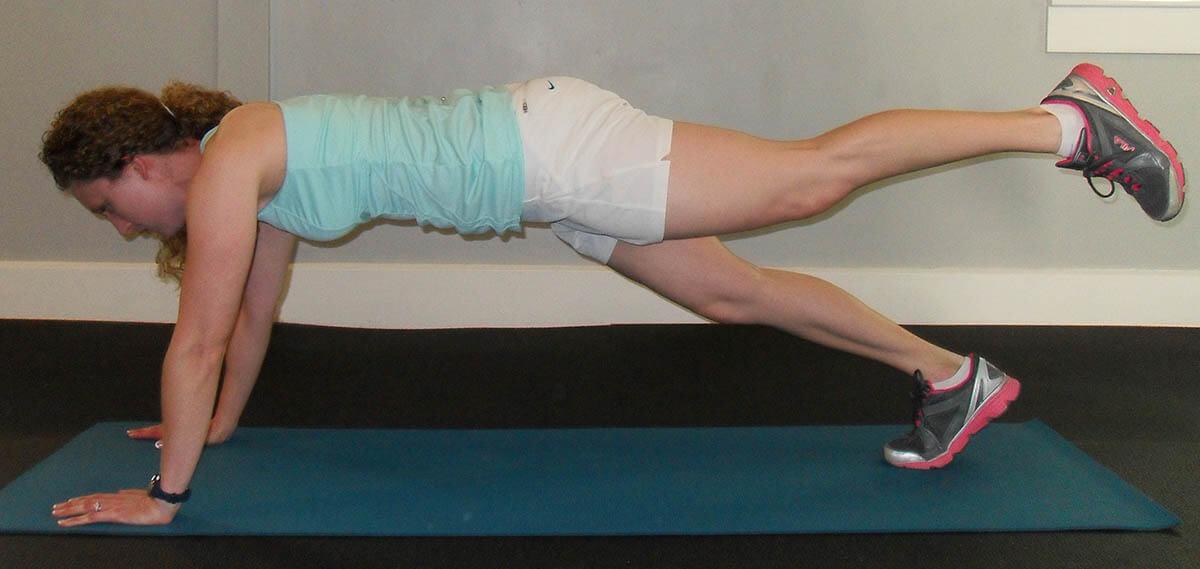 Sprinter plank 2